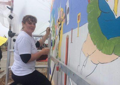 Et-Art-Producties TKD-Beurs Mijke Wijga Actrices Veilig graven doen we samen