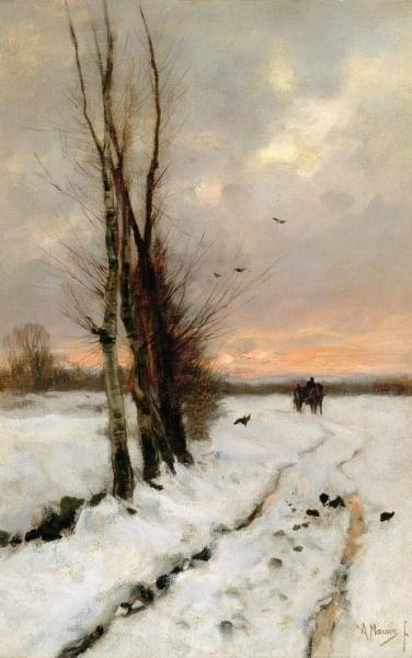 Et-Art-Producties kunsteducatie Singer Laren Origineel Mauve schilderijen