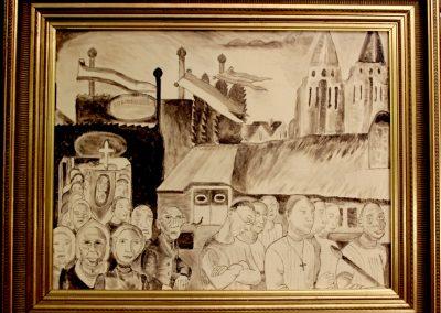 Et-Art-Producties kunsteducatie Singer Laren replica Kruyder schilderijen