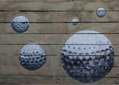 Et-Art-Producties Suburbia Locatietheater schilderijen decor
